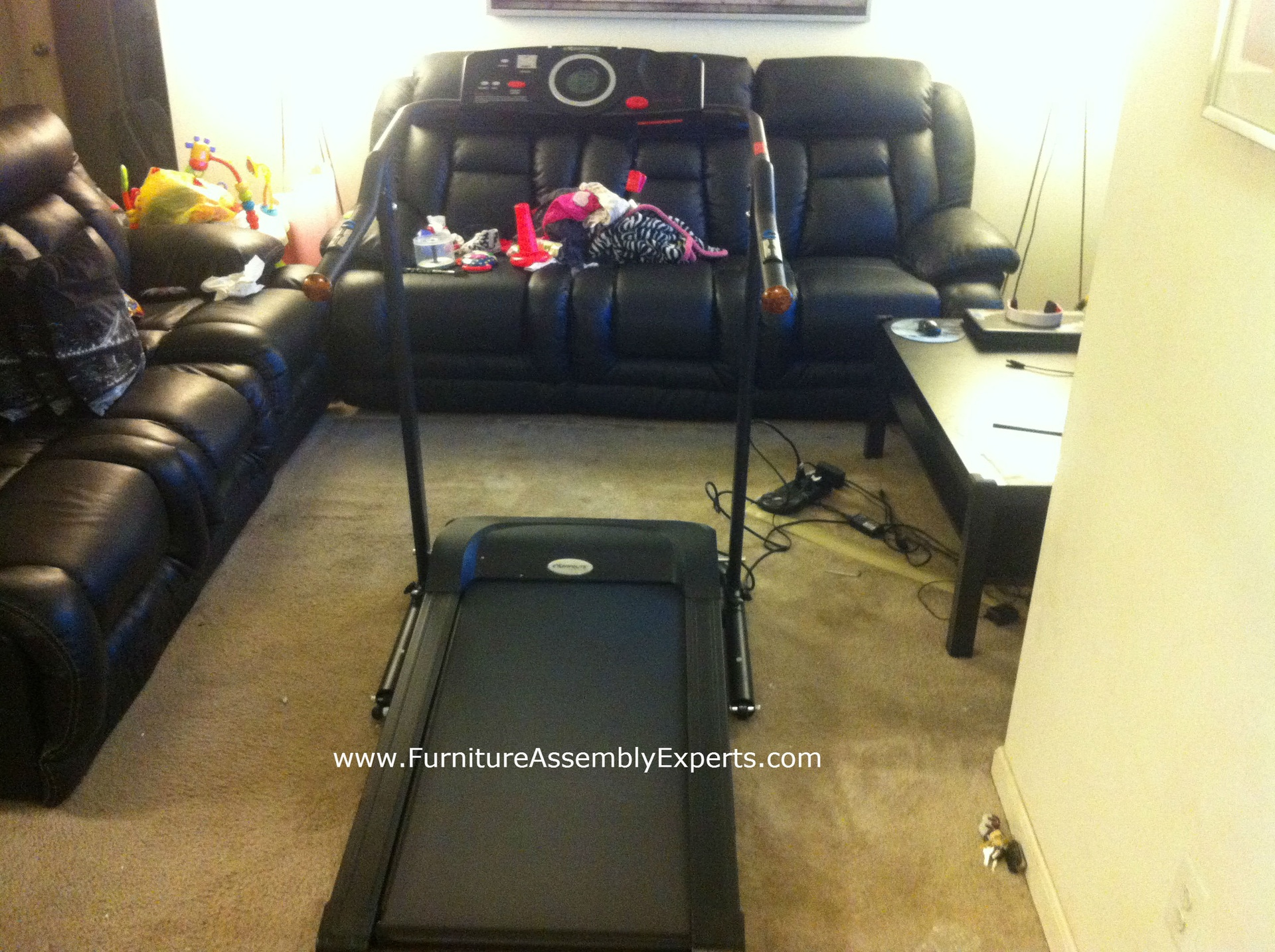 Exerpeutic treadmill assembly service in DC MD VA